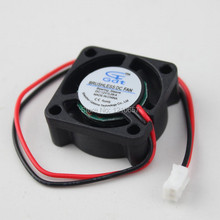 10Pieces LOT Gdstime Brushless 2Pin  25MM 25 x 25 x 10MM Cooling 5 Blade 12V DC Cooler Fan