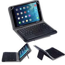Universal keyboard for Android And Window tablets Wireless Bluetooth Keyboard Touchpad For All 7-10 inch Android Tablet + Case