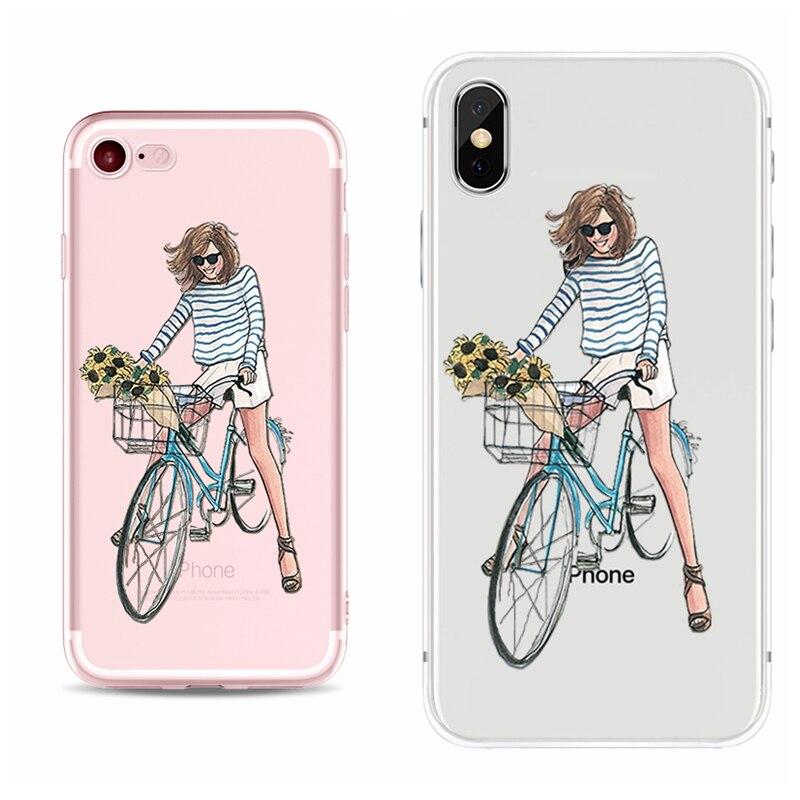 Naistega ümbrised iPhone-ile – suur valik