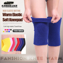 1Pcs Thick Towel Warm Dancing Ski Knee Pads Kneeling Volleyball Basketball Knee Support Outdoor Sports Cycling Football Kneepads