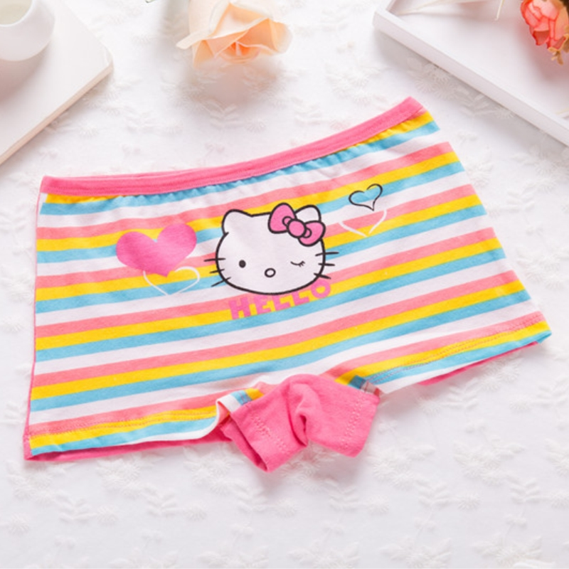 Cartoon Underwear Girls 4PCS//LotKids Panties Kids Children Newborn Casual Briefs