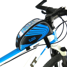 Buy Waterproof Cycling Bike Bags Bicycle Frame Front Tube Mobile Phone Bag 5.5 inch MTB Road Bike Touch Screen Bag Bike Accessories for $8.33 in AliExpress store