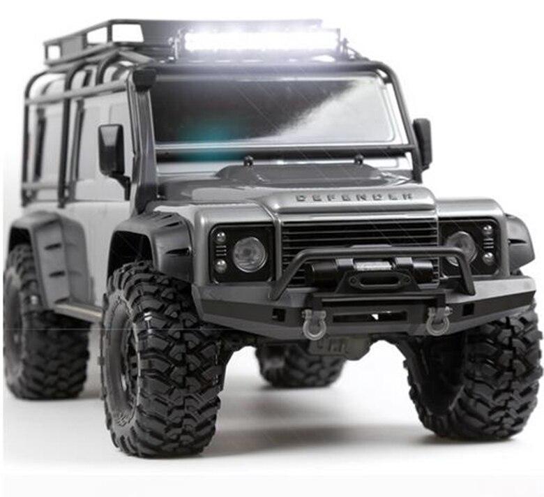 Super Bright RC Car Metal 44 LED Roof Lamp / Light Bar for 1/10 RC Crawler Axial SCX10 RC4WD D90 D110 TAMIYA CC01 Traxxas TRX-4<br>