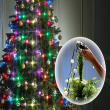 New 16 Flashing Happy Christmas Tree Dazzling Light Tree Dazzler Lamp New Year Decoration For Home Festive Atmosphere Lighting(China)