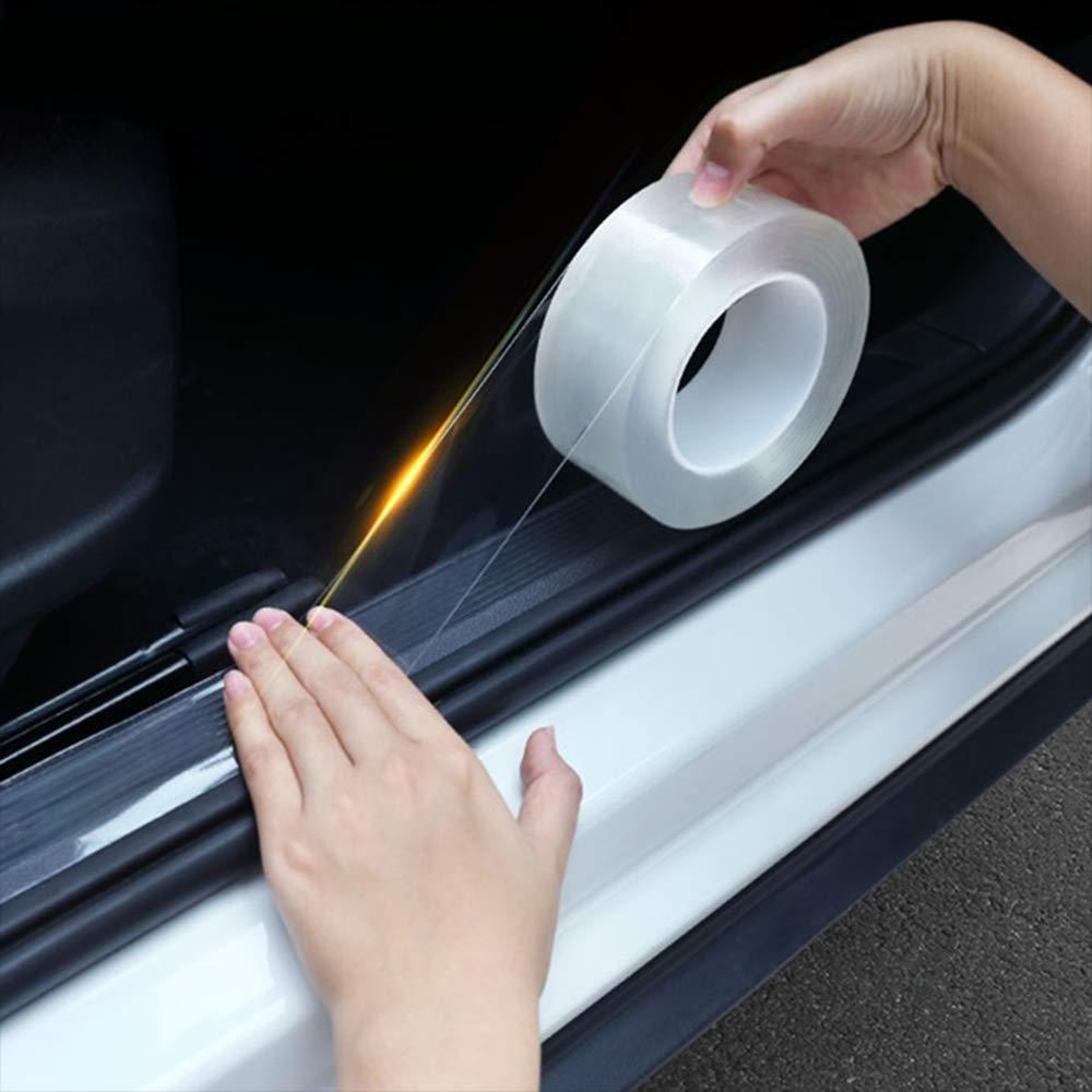 Car Door Edge Anti Scratch Guard Paint Chip Protector Film Vinyl Invisible Strip