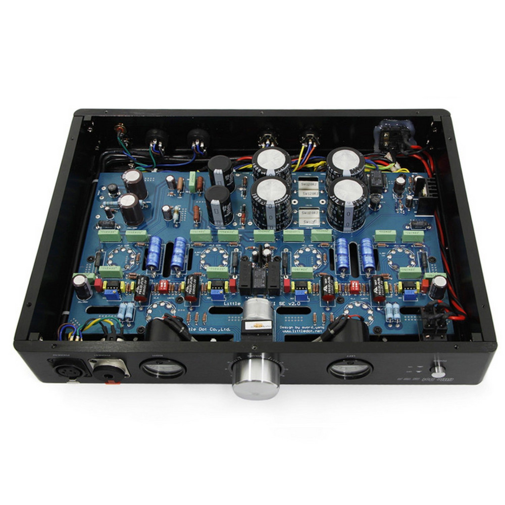 Little Dot MK8 VIII SE 12AT7 X2 6H30PI X4 Balanced Headphone Tube Amplifier Flagship Full balance Vacuum Tube Balanced Amp