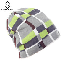 [COSPLACOOL] Fashion Snowboard Winter skullies beanies for men women Hip Hop caps hat