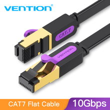 Vention Ethernet Cable RJ45 Cat7 Lan Cable STP Network Cable 1M 2M 3m 5m 8m 10m 15M  patch cord Cable for PC Router Laptop Cat 7(China)