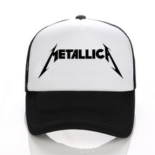 Metal Band Metallica Baseball Cap Cotton Fashion Music Trend Baseball Cap For Men & Women