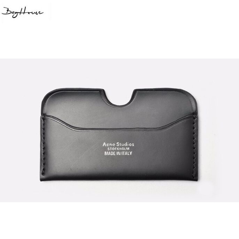 2017 New Acne passport cover card holder Famous brand designer mens black purse women wallet card<br><br>Aliexpress