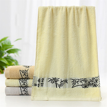 Fashion Face Towels Brand Bamboo Charcoal Towels Soft Best Value Decorative Hotel Collection Towels For Bathroom V5834