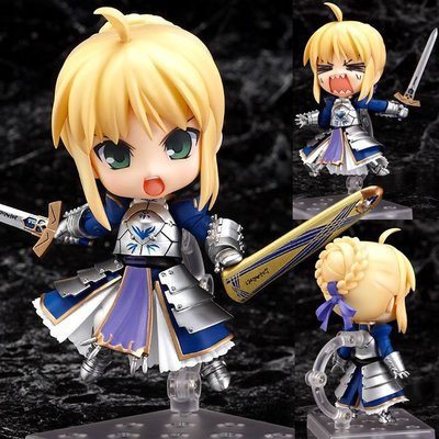 10cm Fate Stay Night Zero Saber Knight Nendoroid Figure Toy Brand New<br><br>Aliexpress