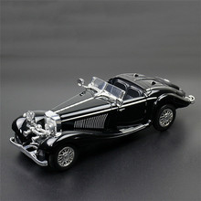 Collet Famous Alloy Car Kids Toy Benz The Bugatti Boy Back In Car Toy Toy Car Model with The Light Sound Toys for Children