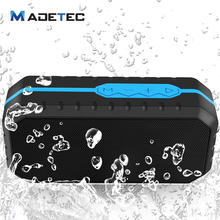 Madetec Waterproof Bluetooth Speaker Mini Wireless Portable Stereo Outdoor Speaker With Fm Radio Tf Card Voice Amplifier Vs44(China)