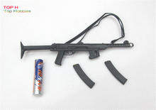 "1/6 Scale WWII PPSh43 Machine Carbine Model Rifle Gun Weapon Model Toy Fit For 12"" Soldier Figure Boba"