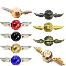 Cupid Fidget Spinner Generation Hand Spinner wing Snitch Harry Potter Spinner Hand EDC ADHD Copper Fidget top spinner(China)