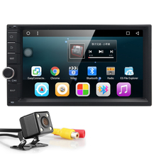 1G RAM 3G Quad Core Android 6.0 2din New Universal Car Radio Double Car DVD Player GPS Navigation In dash Car PC Stereo Video BT