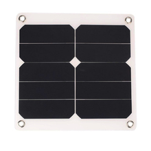Top Deals 2A 10W 5V Solar Power Panel External Mobile Phone Battery sun panel Charger with USB Port solar cell for phone charg