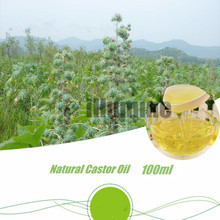 Pure Natural Castor Base Oil Edible Massage Spa Pedicure DIY Handmade Soap Raw Material Skin Hair Care Beauty Salon 100ml
