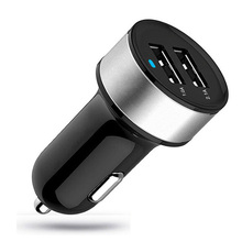 High Quality Universal Smart Fuse Protection Dual USB Port 5V 3.1A Car Charger For iPhone 5s 7 Plus Samsung S7 Xiaomi Note3