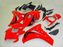 Injection mold Fairing kit for HONDA CBR1000RR 08 09 10 11 CBR 1000RR 2008 2009 2011 ABS hot red Fairings set+7gifts HH04