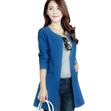 Fashion Coat 4 Colors S-XXL Spring Autumn 2017 New Fashion Trench Coat For Women Long Cardigan Coat For Women A405