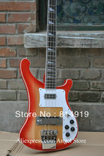 4 Strings bass 4003 bass guitar Sunburst Electric bass guitar HOT SALE