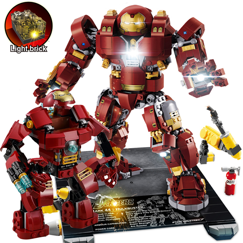 Please msg for color box Marvel IRON MAN Avengers Hulk Set 248pcs