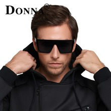 DONNA Fashion 2017 Retro Square Sunglasses Brand Designer Men Sunglasses Driving Outdoor Sport Sun Glasses Eyewear Male D89(China)