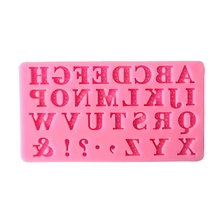 Hot Sale 1PCS DIY Russian Alphabet fondant Cake silicone chocolate Molds For Kitchen Baking Tools(China)