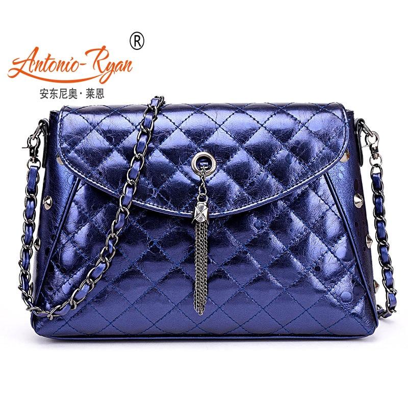 Antonio Ryan Brand New Women bag Chain Bag Shoulder Bag Diagonal lady Handbag female Handbags<br><br>Aliexpress