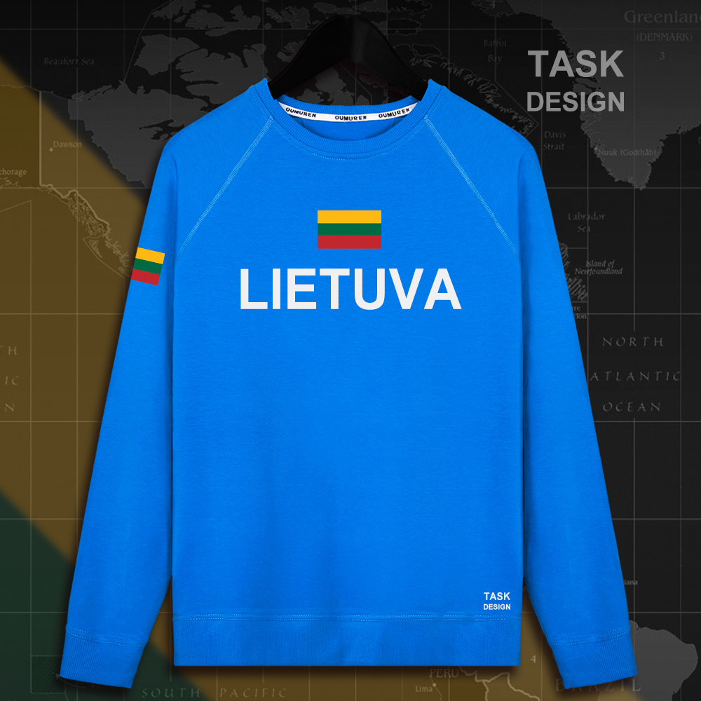 Lithuania Lithuanian LTU Lietuva Lietuvos men hoodie pullovers hoodies men sweatshirt new streetwear clothing Sportswear tracks 4