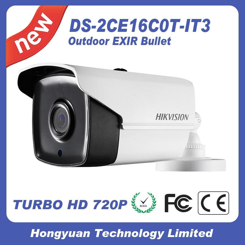 Bullet Camera DS-2CE16C0T-IT3 night camera Hikvision cctv camera HD720P IR<br>