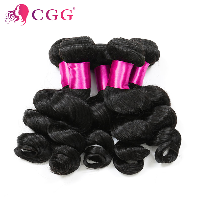 Brazilian Curly hair bundles 4Pcs Lot Unprocessed Human Hair Weave Extensions 100% Human Hair Brazilian Loose Wave Virgin Hair<br><br>Aliexpress