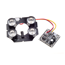 Wholesale Spot Light Infrared 4x IR LED board for CCTV cameras night vision