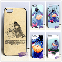 Winnie The Pooh Eeyore Quotes Vintage fashion cell phone case cover for iphone 4 4s 5 5s 5c SE 6 6s plus 7 plus #wr458