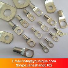 50PCS SC16-8 5 AWG (Lug Diameter) X 5/16 inch (Hole Diameter) Tinned Copper Lug Battery Cable Connector Terminal SC Terminals