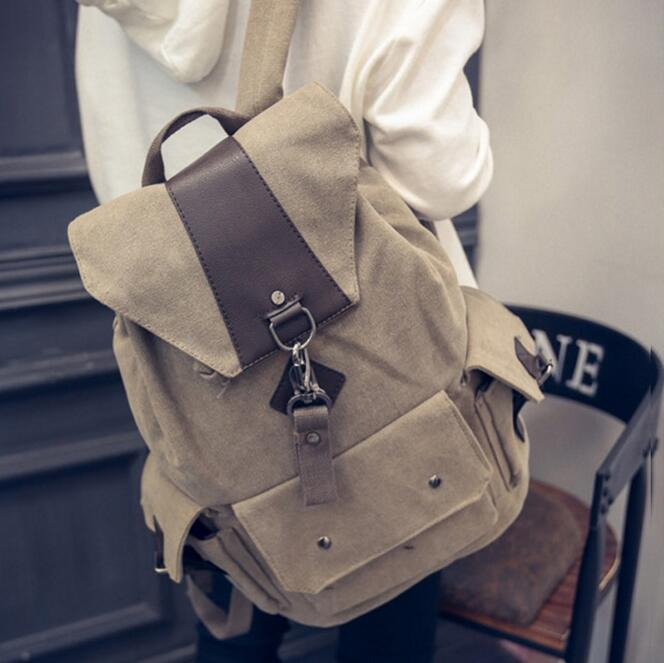 newhotstacy bag 102216 new hot casual mens canvas backpack travel bag<br><br>Aliexpress