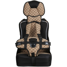 New Heighten Car Child Safety Seat Baby Child Portable Car Infant Seat Suitable for 6 Months -8 Years Old Kids Free Shipping