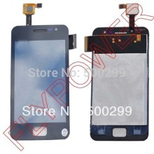 For JIAYU G2 LCD Screen Display with Touch Screen Digitizer assembly by free shipping; Black(China)