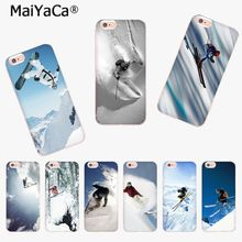 Buy MaiYaCa Cool Alpine Skiing Luxury TPU Rubber Phone Case cover iPhone 8 7 6 6S Plus X 10 5 5S SE 5C 4 4S Coque Shell for $1.16 in AliExpress store