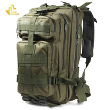 Free Knight 3P Military Army Tactical Backpack Outdoor Sports Trekking Travel Bag Camping Hiking Camouflage Bag Cycling Bike Bag(China)