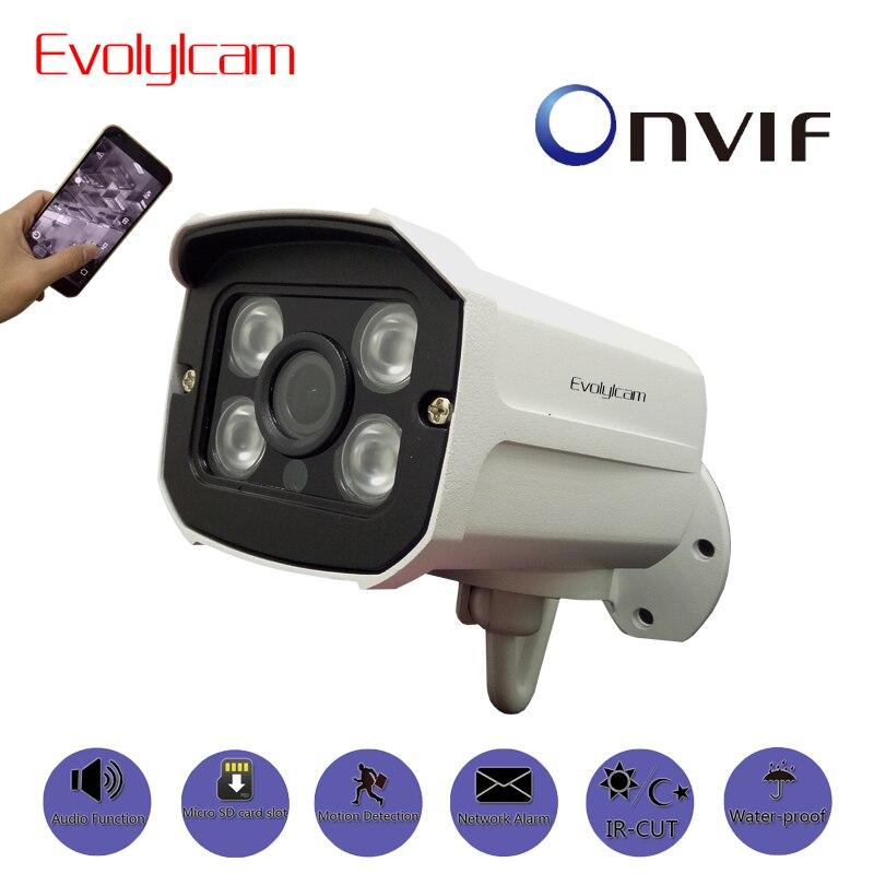 Evolylcam Audio 720P 1MP/ 960P 1.3MP/ 1080P 2MP HD IP Camera Micro SD/TF card slot Network Alarm CCTV Camera Onvif P2P Security<br>