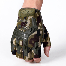 breathable absorb sweat anti-skid fast take off men women army fingerless fitness military tactical workout driving gloves