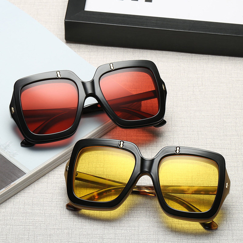 2018 New Square Unisex Sunglasses (15)