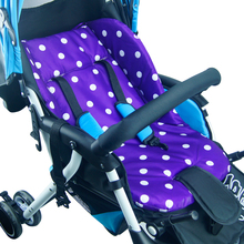 NEW Baby Stroller Cushion Pad Pram Padding Liner/Car Seat Pad Rainbow Waterproof Amazing Child  Pushchair Cotton Thick Mat