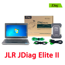 Wireless JDiag Elite II Pro With E6430 Laptop For Jaguar & Land Rover Professional Diagnostic Programming Tool As JLR VCI/VCM 2(China)
