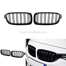 Gloss Black M3 Style Front Kidney Grille for 12-15 BMW F30 3-Series 320i 328i 335i Sedan/Wagon