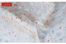 Small floral Country style 1.5m Chiffon Diy dress fabric Multiple Colour flowers
