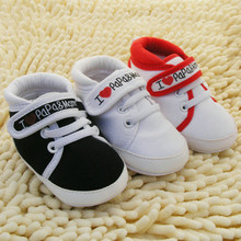 Hot Baby Infant Kids Boy Girl Soft Sole Canvas Sneaker Toddler Newborn Shoes 0-18 M Wholesale